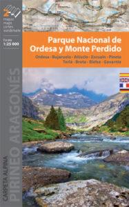 Mapa Ordesa y Monte Perdido
